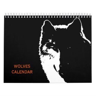 Wolves 2018 Calendar - Wild Animals