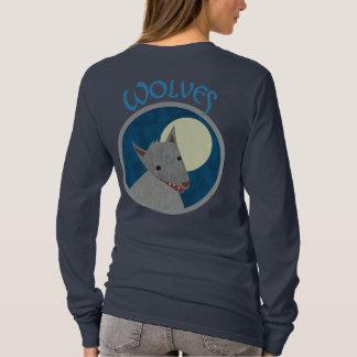 Wolves 2-Sided Women's Dark Shirts