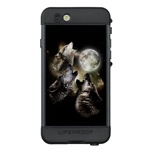 Wolves Animals Howling Full Moon Night Stars LifeProof NÜÜD iPhone 6s Case