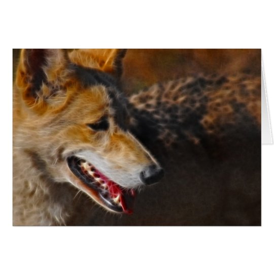 Wolves are us. card