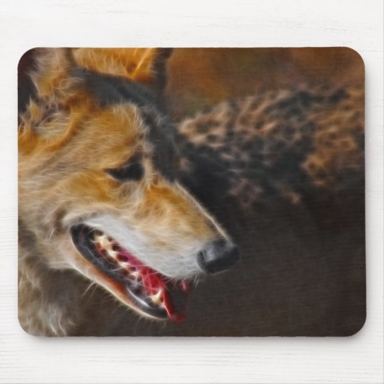 Wolves are us. mouse pad