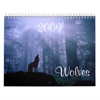 Wolves Calendar