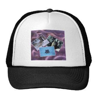Wolves Collage Trucker Hat