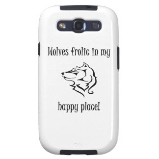 Wolves frolic in my happy place galaxy SIII covers