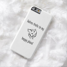 Wolves frolic in my happy place barely there iPhone 6 case