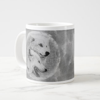 Wolves Giant Coffee Mug