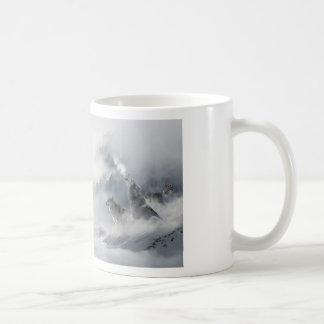 Wolves Howl At The Moon Coffee Mug