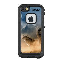 LifeProof® FRĒ® for iPhone® 5/5S/SE Case with Siberian Husky Phone Cases design