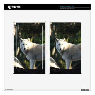 Wolves in the Forest Decal For Kindle Fire