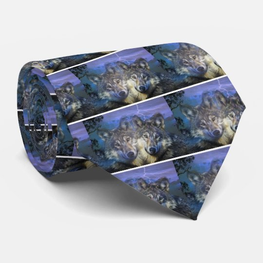Wolves in the night tie