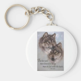 Wolves Keychain