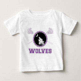 wolves lacrosse-01.png baby T-Shirt