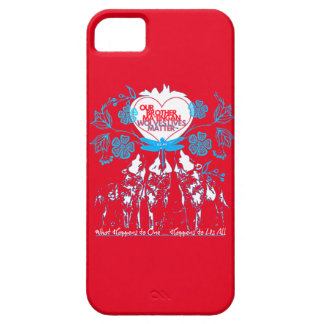 Wolves Lives Matter™ - Ma'iingan is my Brother iPhone SE/5/5s Case