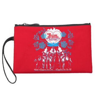 Wolves Lives Matter™ - Ma'iingan is my Brother Wristlet Wallet