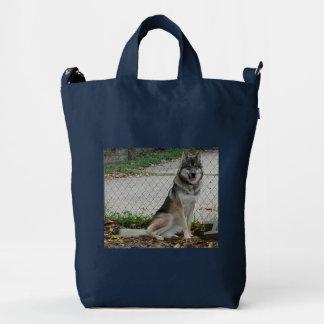 Wolves make life better! duck bag