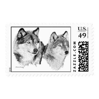 Wolves Stamp