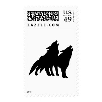 Wolves Postage Stamps