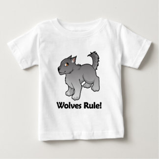 Wolves Rule! Baby T-Shirt