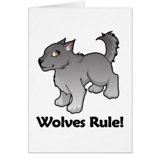 Wolves Rule! Card