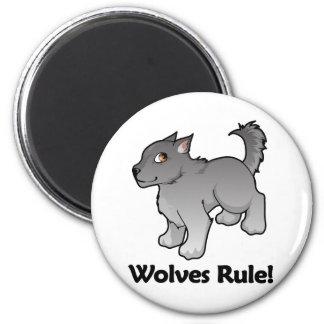 Wolves Rule! Magnet