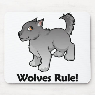 Wolves Rule! Mouse Pad
