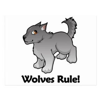 Wolves Rule! Postcard