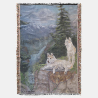 Wolves Safe Haven Blanket