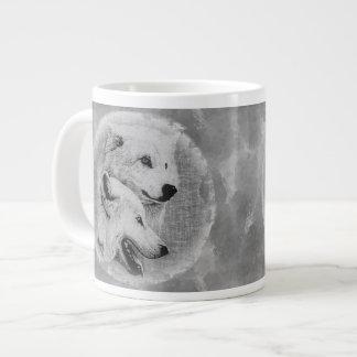 Wolves 20 Oz Large Ceramic Coffee Mug