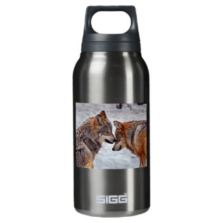 Wolves That's Mine Insulated Water Bottle