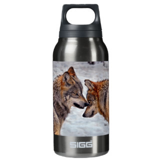 "Wolves ""That's Mine"" Insulated Water Bottle"