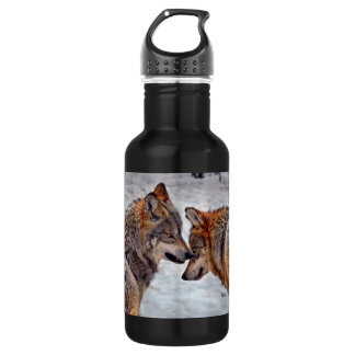 "Wolves ""That's Mine"" Stainless Steel Water Bottle"
