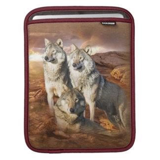 Wolves Trio Rickshaw Sleeve