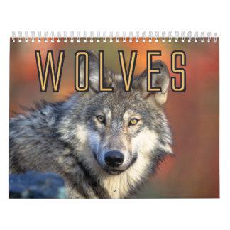 Wolves Wall Calendar