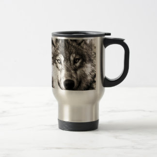 Wolves Wolf Animals Wild Nature Forest Coffee Mugs