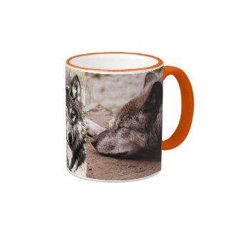 Wolves Wolf Animals Wild Nature Forest Coffee Mug