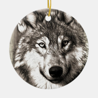 Wolves Wolf Animals Wild Nature Forest Ornaments