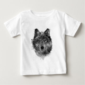 Wolves Wolf Snow Winter Snow Forest Park Baby T-Shirt