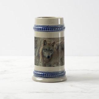 Wolves Wolf Stien Beer Stein