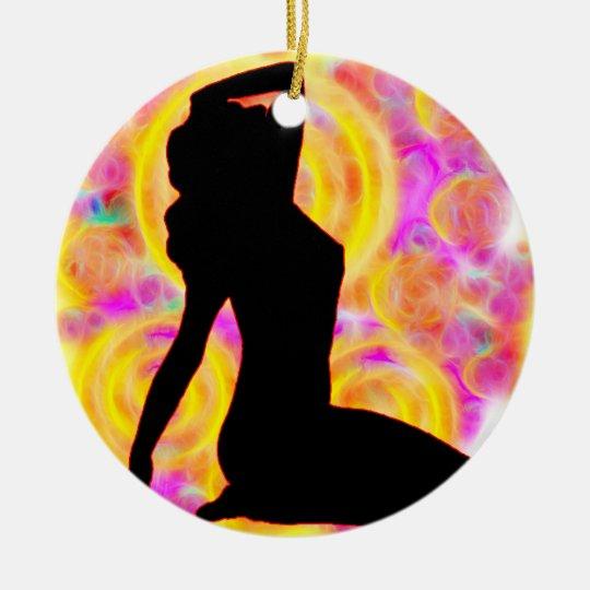 Woman1 FireGaze Ornament
