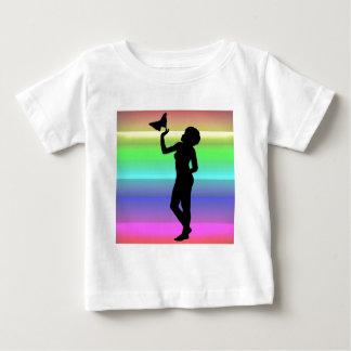 Woman2 NeonRainbow Baby T-Shirt