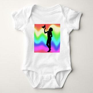 Woman2 RainbowMelt Baby Bodysuit
