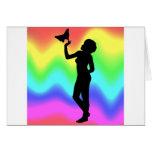 Woman2 RainbowMelt Felicitación