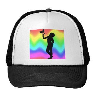Woman2 RainbowMelt Gorros Bordados