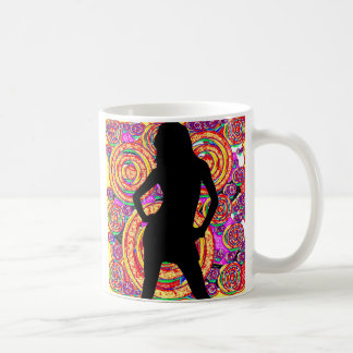Woman5 FreshRinse Classic White Coffee Mug