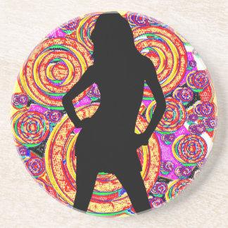 Woman5 FreshRinse Coaster