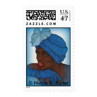 Woman5 Stamp