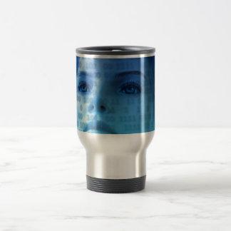 woman-163426 SCIENCE-FICTION ALIEN LIFEFORMS woman Travel Mug