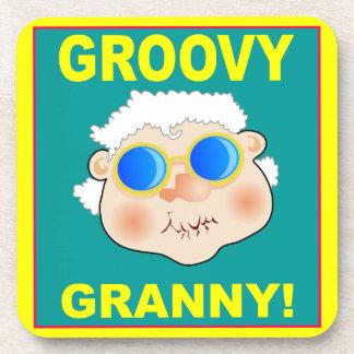 woman-268642_1920 GROOVY GRANDMA COLORFUL FUN woma Coasters