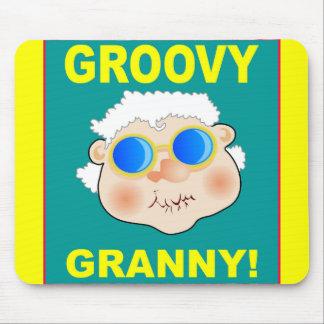 woman-268642_1920 GROOVY GRANDMA COLORFUL FUN woma Mouse Pad