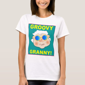 woman-268642_1920 GROOVY GRANDMA COLORFUL FUN woma T-Shirt